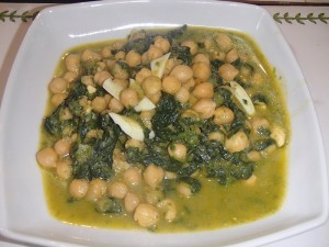 PLATO GARBANZOS